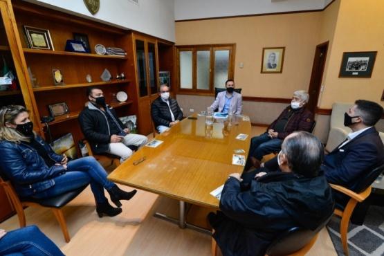 Maderna se reunió con representantes de la Cámara de Comercio