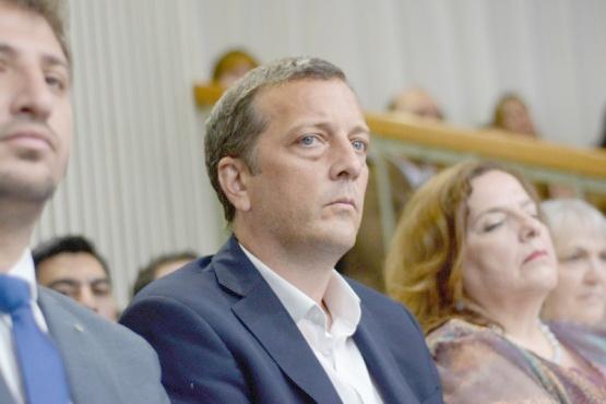 Ministro de Economía de Santa Cruz, Ignacio Perincioli. (Archivo).