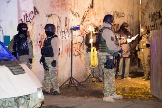 Vivienda donde se incautaron los envoltorios de cocaína. (Foto: C.G.)