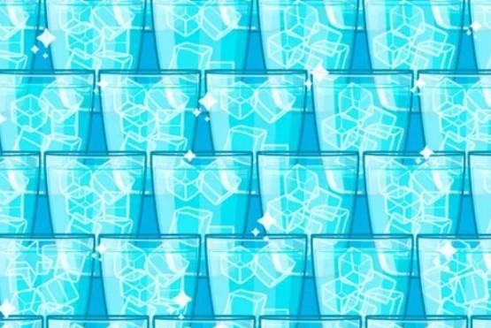 Desafío viral: una estrella se oculta entre cubos de hielo