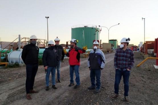 Autoridades del IESC recorrieron instalaciones de SINOPEC