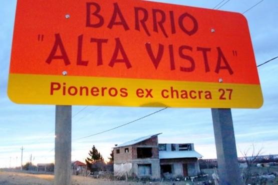 Barrio Alta Vista. (C. González)