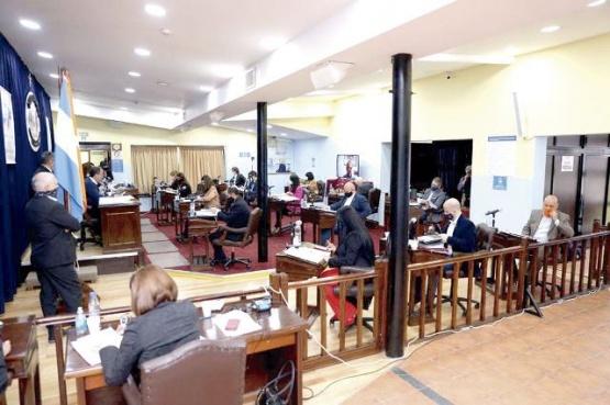 Recinto de la Cámara de Diputados de Tierra del Fuego.