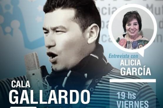 """El """"Cala"""" Gallardo festeja sus 20 años con la música"""