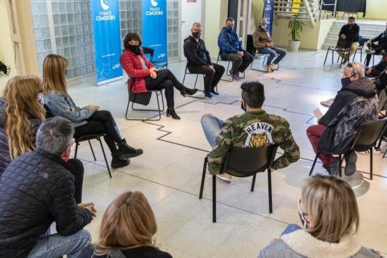 Reunión en Comodoro Rivadavia.