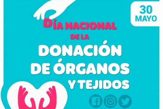 Este sábado se conmemora el Día Nacional de la Donación de Órganos y Tejidos