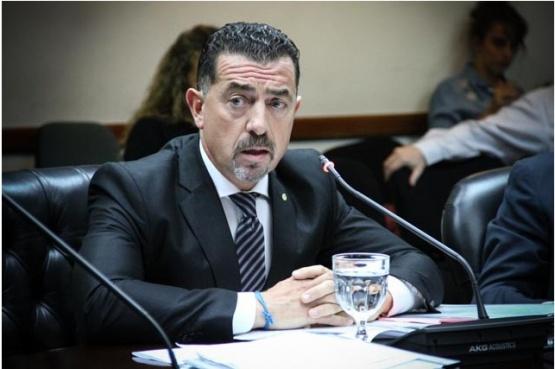 El juez Reynaldi frente al Consejo de la Magistratura de Nación.