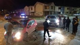 Choque con fuertes daños materiales en Río Gallegos