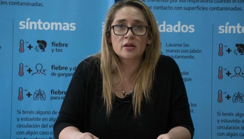 La epidemióloga Ana Cabrera.