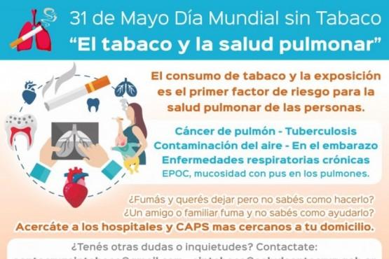 """31 de Mayo de 2020 """"Día Mundial Sin Tabaco"""""""