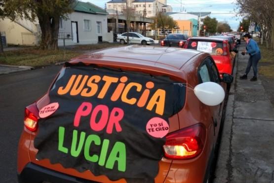 Realizan caravana en pedido de justicia por Lucía (Foto: C.G)