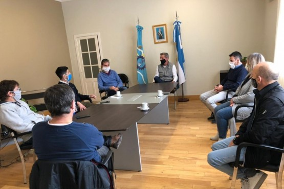 Arcioni analizó con la Cámara de Servicios Petroleros del Golfo San Jorge la productividad de la Cuenca