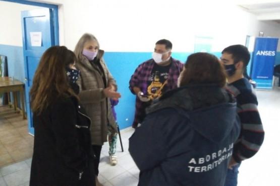 Se profundiza el trabajo articulado entre Provincia y Nación en los barrios