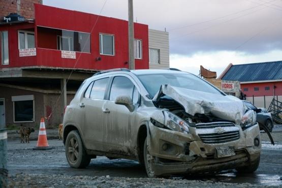 Una mujer fue hospitalizada tras fuerte colisión en el barrio San Benito