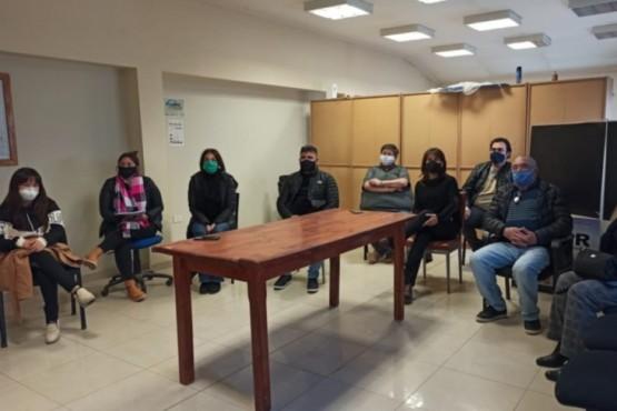 Torres Otarola acompañó las acciones que se vienen desarrollando en Sarmiento