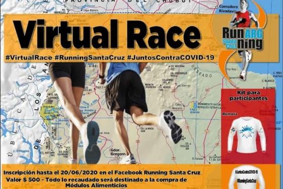 El Running Santa Cruz prepara la Virtual Race para volver con todo