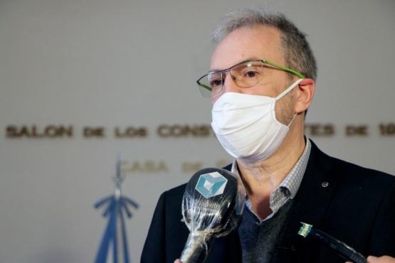 Salud confirmó este miércoles un nuevo caso positivo de COVID-19