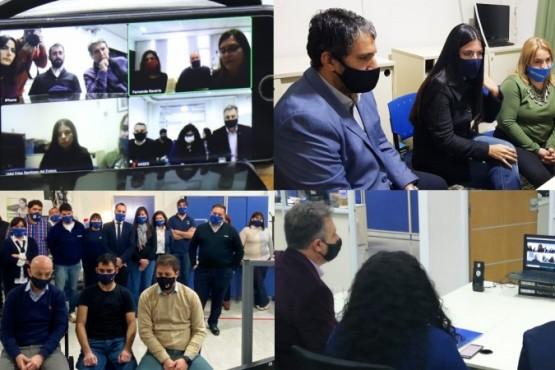 Videoconferencia con autoridades de ANSES