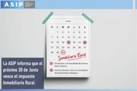 Prórroga para el Impuesto Inmobiliario Rural