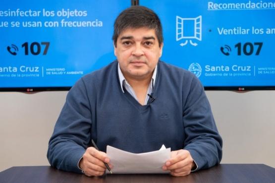Secretario de Salud Colectiva, Claudio García.