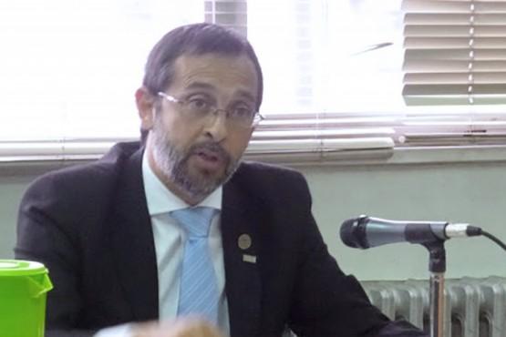 El fiscal de Rawson, Fernando Rivarola.