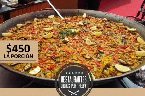 Restaurantes Unidos propone una Paella Valenciana para este sábado