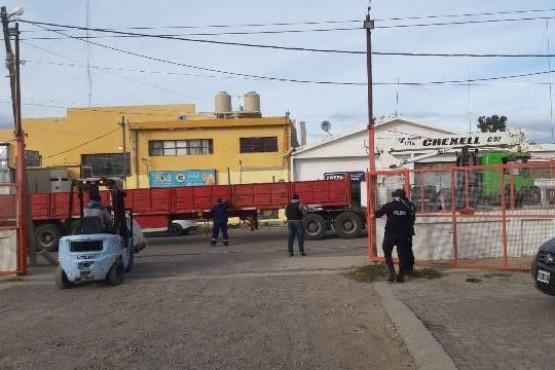 Allanamientos por el robo de cobre en Caleta y Comodoro