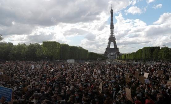 Ola de protestas en todo el mundo por la muerte de George Floyd