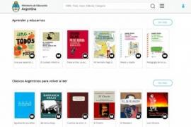 Educación puso en línea la biblioteca digital Leer en casa