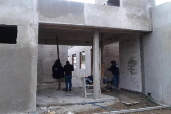 Provincia avanza con la obra de ampliación de la Escuela N° 20