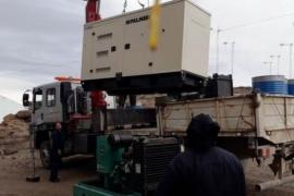 Aldea Chacay Oeste ya cuenta con un nuevo generador eléctrico