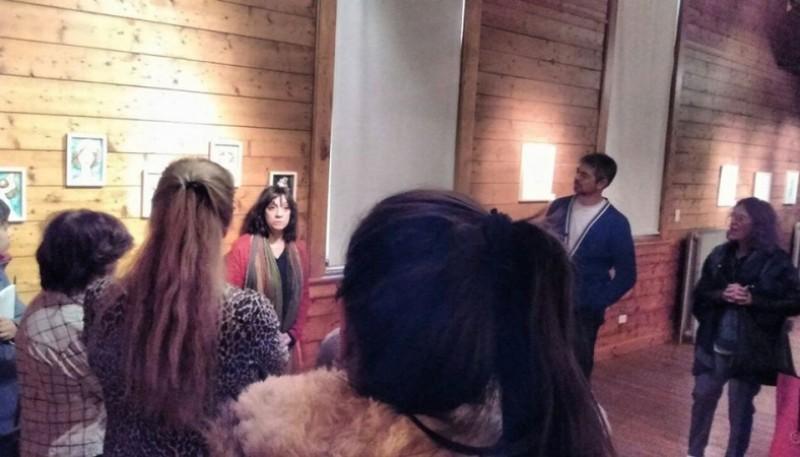 Muestra presentada esta semana de Florencia Salas.
