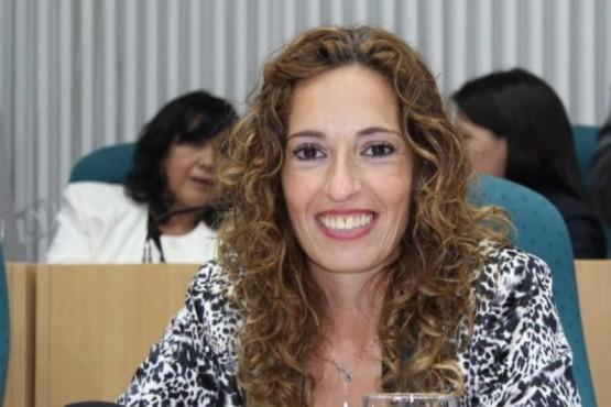 La diputada del Frente de Todos, Rocío García,