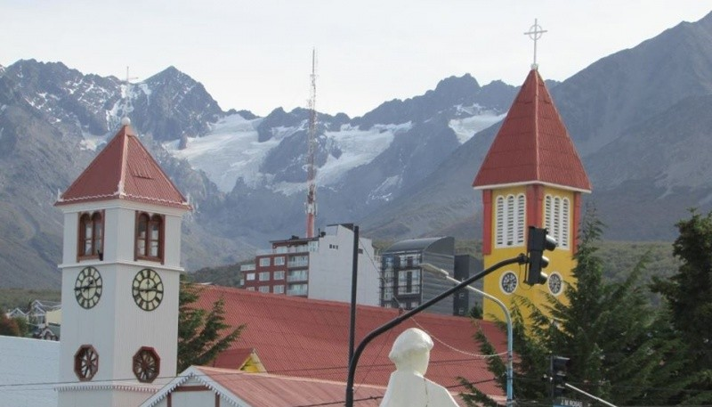 El clima para Ushuaia.