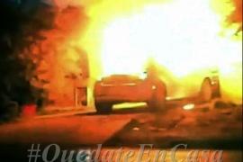 Incendiaron un auto intencionalmente