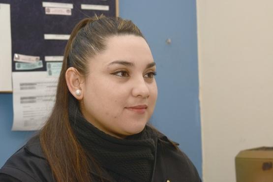Oficial Ayudante Luciana Aguirre