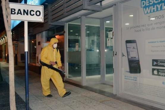 Desinfección en lugares de concurrencia pública.