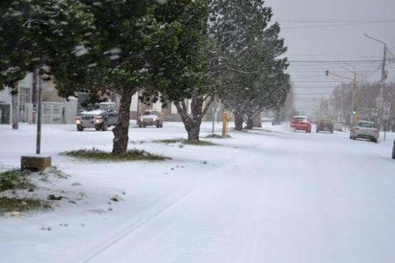 Emiten alerta por nevadas en la Patagonia