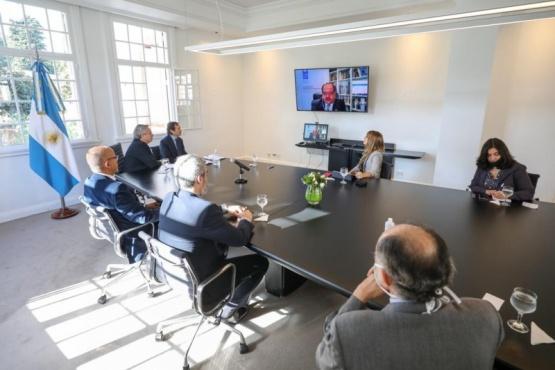 Naciones Unidas comprometió su apoyo al Consejo Económico y Social que propuso el Presidente