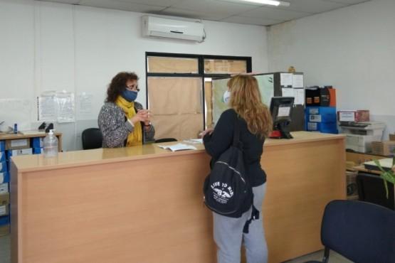 La Delegación del Registro Civil comenzó a funcionar con restricciones