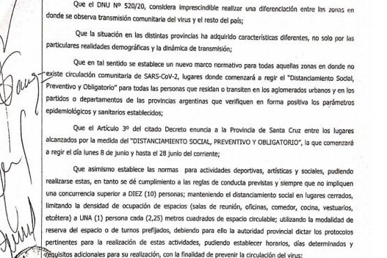 Ayer fue publicado el decreto comunal.