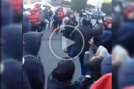 Disturbios y golpes en la sede de la UOCRA