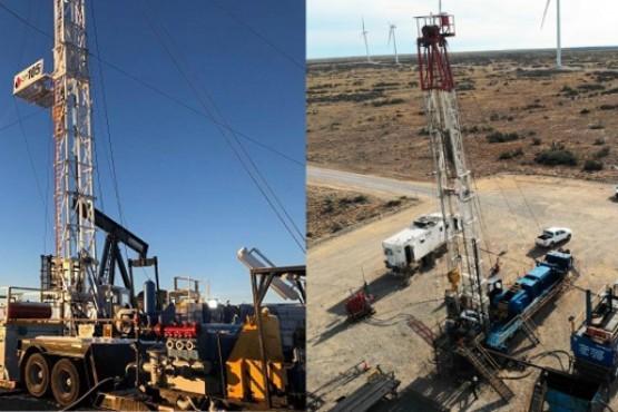 Sinopec Argentina reactiva 4 nuevos equipos de torre en Santa Cruz