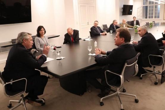 El Presidente recibe en Olivos al CEO de Vicentin