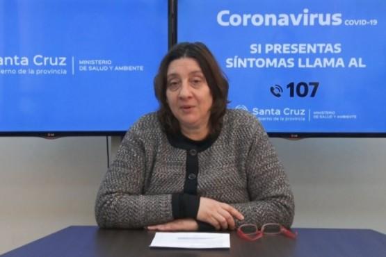 Subsecretaria de Coordinación de Hospitales, Laura Beveraggi.