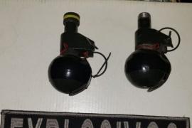 La División de Explosivos secuestro dos granadas en un allanamiento