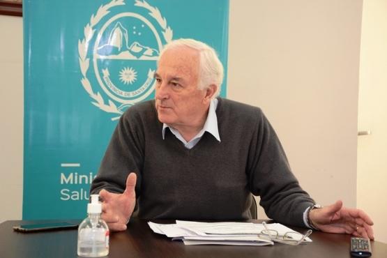 El ministro de Sald, Juan Carlos Nadalich, recibió ayer a TiempoSur. (Foto: C.R.).