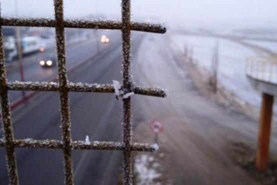 Río Gallegos bajo cero: la Sensación Térmica es de -9.4°C