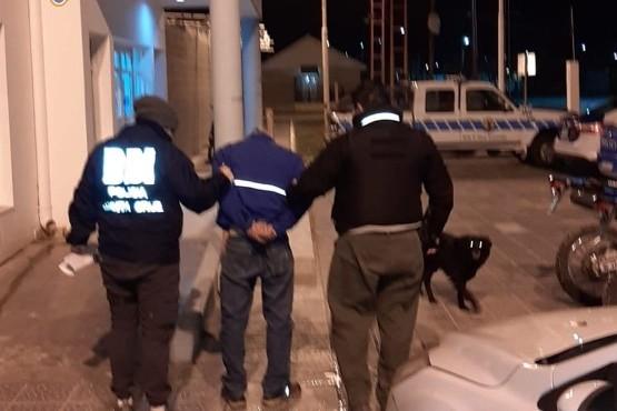 Detenido por personal de la DDI