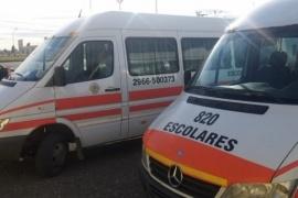 Transportes Escolares piden conocer protocolo y no pagar una nueva revisión técnica
